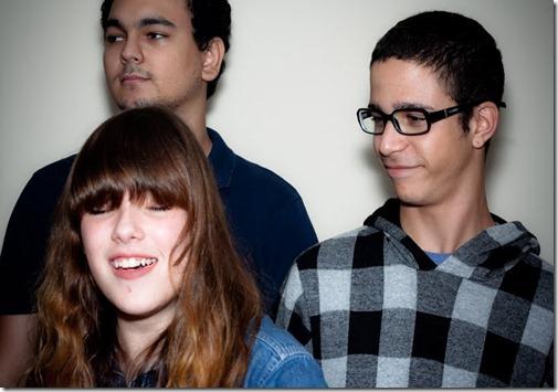 De esquerda para direita: Allan, Mariana e Ézio.
